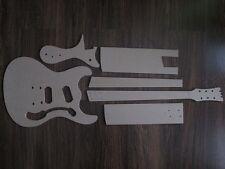 Mosrite chitarra Stencil templates gitarrenbau