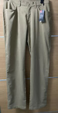 Under Armour 36/36 Light Brown Tech Golf Trousers New