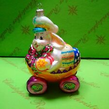 Christopher Radko Prototype Easter Bunny Glass Ornament