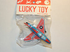 USAF Airplane Friction Toy Made in Japan Original package (9235)