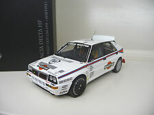 1:18 KYOSHO LANCIA DELTA HF EVO 2 Test Car Martini NUOVO NEW