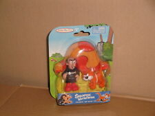 GARGAMEL & AZRAEL LOS PITUFOS THE SMURFS BY JAKKS X2 LITTLE FIGURES NEW IN CARD