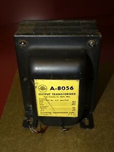 Stancor Type A-8056 Audio Output Transformer, 50 Watts, Good