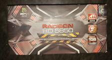 XFX ATI Radeon HD 5850 HD-585X-ZAFC 1GB GDDR5 SDRAM PCI Express x16 graphics