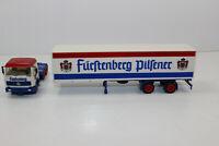 al3068, Alter Albedo LKW Sattelzug MB Brauerei Fürstenberg Pilsener Bier 1:87