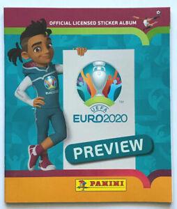 Panini Euro 2020 Preview Empty Swiss Album