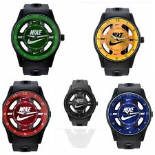 ac7944bae95d2 Nike ANALOG WATCH SILICONE BAND New W out Tags No Box 5 To Choose From