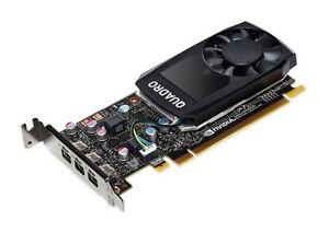 Lenovo nVIDIA Quadro P400 2GB 3X Mini DP PCI-E x16 LP 900-5G212-2701-000 00FC960