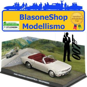 Ford Mustang Cabrio (Goldfinger) Collezione 007 1:43 Diecast 🤩🤩
