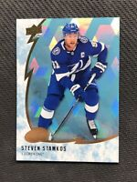 2019-20 UPPER DECK ICE STEVEN STAMKOS RARE ICE CUBE #38 1:40 PACKS