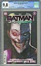 Batman The Joker War Zone #1 CGC 9.8 1st First Print Edition Ben Oliver Cover