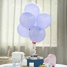 """25 Periwinkle Matte 10"""" Round Latex Balloons Party Wedding Decorations Supplies"""