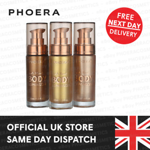 PHOERA HIGH GLOSS HIGHLIGHTER BODY LUMINIZER FACE MAKE UP BRONZER MOISTURIZER