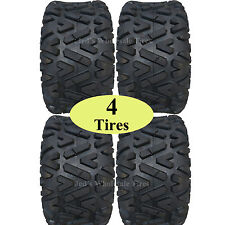 Lifted Golf Cart Tires Set of 4 22x10.00-10 GTW Barrage 4-Ply Mud Tires 22x10-10