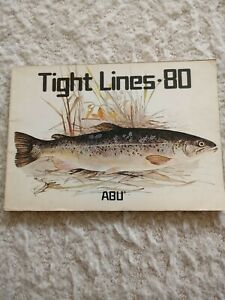 Abu Tight lines 1980 fishing tackle catalogue