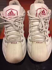 Adidas Superstar SS2G Shoes White & Red 2G Classic  Size 9.5 M Consortium Falcon