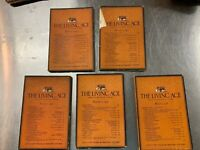 5 issues of The Living Age Magazine 1927 & 1928 Great articles, stories, poems