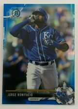 2017 BOWMAN CHROME BCP BLUE REFRACTOR #7/150 JORGE BONIFACIO KANSAS CITY ROYAL