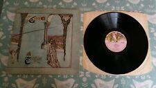 Genesis Trespass UK LP Gatefold Textured Sleeve Charisma Large Mad Hatter Labels