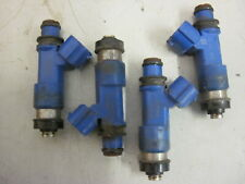 SUBARU IMPREZA 2.5 WRX BLUE INJECTORS SET OF FOUR