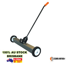 "Super 24"" Magnetic Sweeper Broom Magnet Warehouse Industrial Heavy Duty"