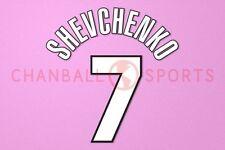 Schewtschenko #7 1998-2000 AC Mailand Homekit Nameset Printing