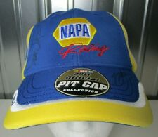 100% AUTHENTIC NASCAR Martin Truex Jr Michael Waltrip Signed NAPA Racing Hat