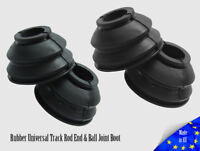 4x UNIVERSAL HQ Rubber Tie Rod End Ball Joint Dust Boots Dust Cover Boot Gaiters