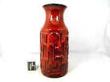 70´s Bay Keramik Bodo Mans Design Keramik vase 954 - 30 geometric pattern
