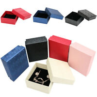 Scallop Jewelry Gift Box Ring Necklace Earring Bracelet Paper Bag Wedding 1pc