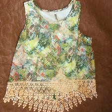 Beautees Multi-Colored Embroidered Top - Girls Size XL - Pristine