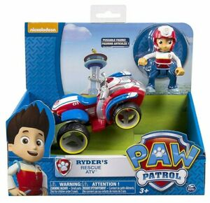 Paw Patrol Ryder ATV Vehicle and Action Figure for Paw Patroller *NEW*