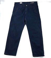 Gap Womens Sexy Boyfriend Skinny Denim Dark Wash Blue Jeans Size 31/12r VGUC