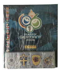 Germany 2006 World Cup Panini Empty Album + Complete Collection