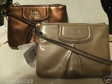 Coach Madison Small Patent Leather Wristlet - NWT