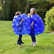 Kids Inflatable Buddy Bumper Ball Bounce Sumo Game Suits 2 Pack Outdoor Fun Zorb