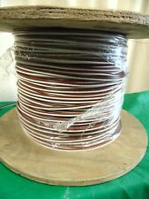 1,250' Spool Roll 12-2 12 AWG 2 Conductor Wire Brown White Wire UL/CSA Ripcord