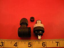 Lumberg RSCW 5/7 Sensor Connector 1174050100 M12 Plug 5-Contacts Right Angle Nnb