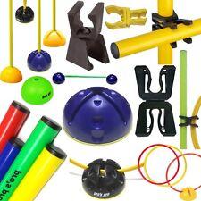 Agility Koordination,Trainingshilfen-Auswahl: Hürdenstangen Reifen Ringe Zubehör