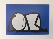 STIK Sleeping Baby Postcard Promotional / Not Signed Mint condition