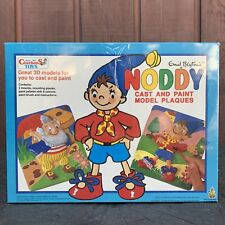 Rare New In Box Noddy Cast And Paint Model Kit - Charbens Toys Vintage