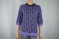 New J Crew J.Crew Purple Sweater Sweat Shirt Size S/M