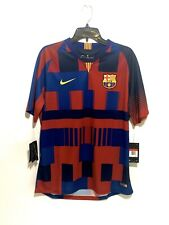 Nike FC Barcelona 20th Anniversary Mash Up Kit Jersey Men's Size Large NWT