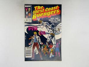 West Coast Avengers #21 Marvel Comics 1987 VF Moon Knight Joins!