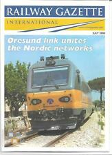 Railway Gazette International magazine- July 2000 DH