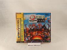 Sega Saturn Gioco - Shin Theme Park (jap) (nell'imballaggio) (usato)