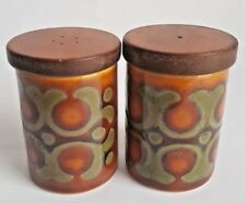 Vintage Hornsea 'Bronte' Salt & Pepper Pots, Designed by John Clappison