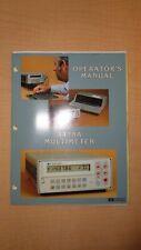HP 3478A Multimeter Operator Manual 6F B3