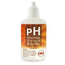 Solución de almacenamiento para Electrodo / Medidor pH HM Digital (60ml)