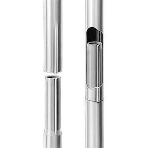 Fuba GZM 422 Sat-Antennen-Mast steckbar | 2,0m Länge, 42mm ø, feuerverzinkt